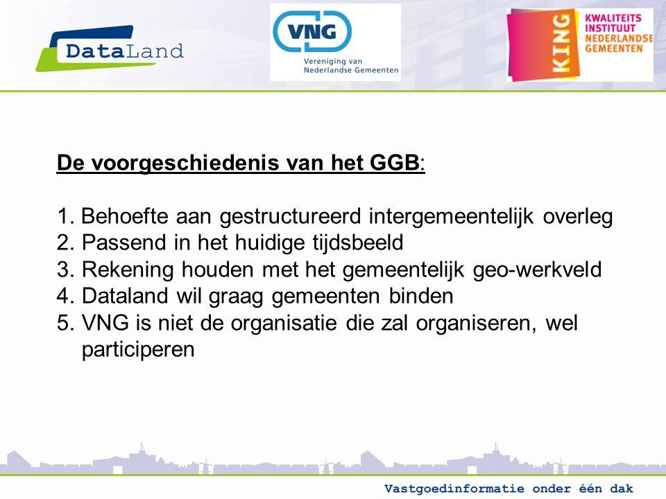 De voorgeschiedenis van het GGB: 1.