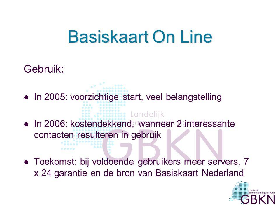 Functionele (on)mogelijkheden: l rasterafbeelding in website of andere pc-applicatie l dient als referentie of achtergrond voor willekeurige thematisc