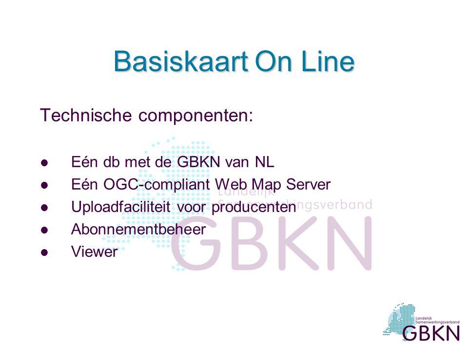 Verbreding GBKN gebruik l Nieuw (raster)product, naast het vectorformaat l Bedoeld voor nieuwe, professionele gebruikers die –onbekend zijn met de GBK