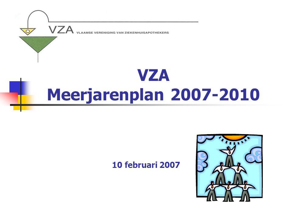 VZA Meerjarenplan 2007-2010 10 februari 2007