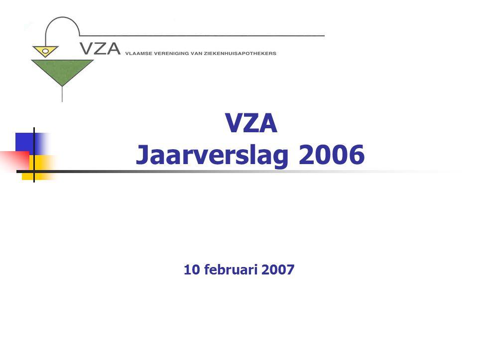 VZA Jaarverslag 2006 10 februari 2007