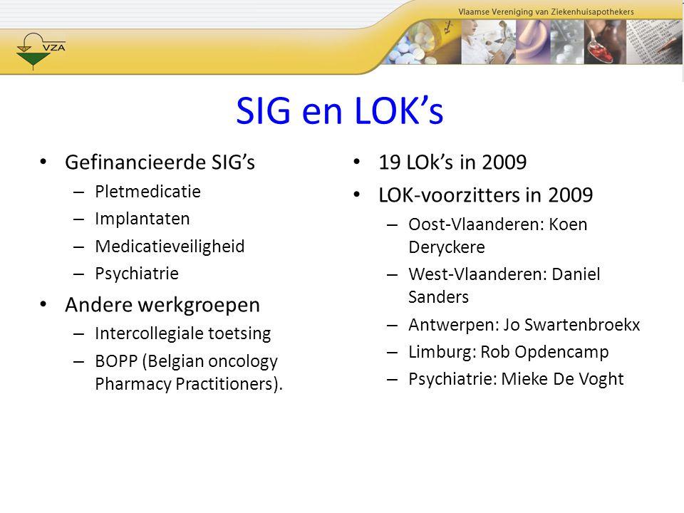 FAGG Pharmacopee Commissie –Werkgroep grondstoffen voor beperkt gebruik Th.