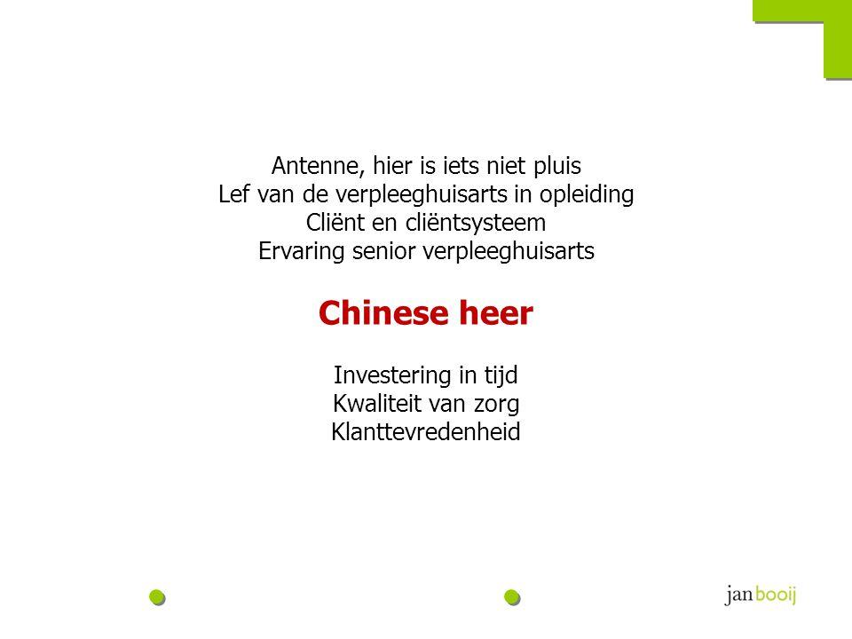 De ene Chinees....