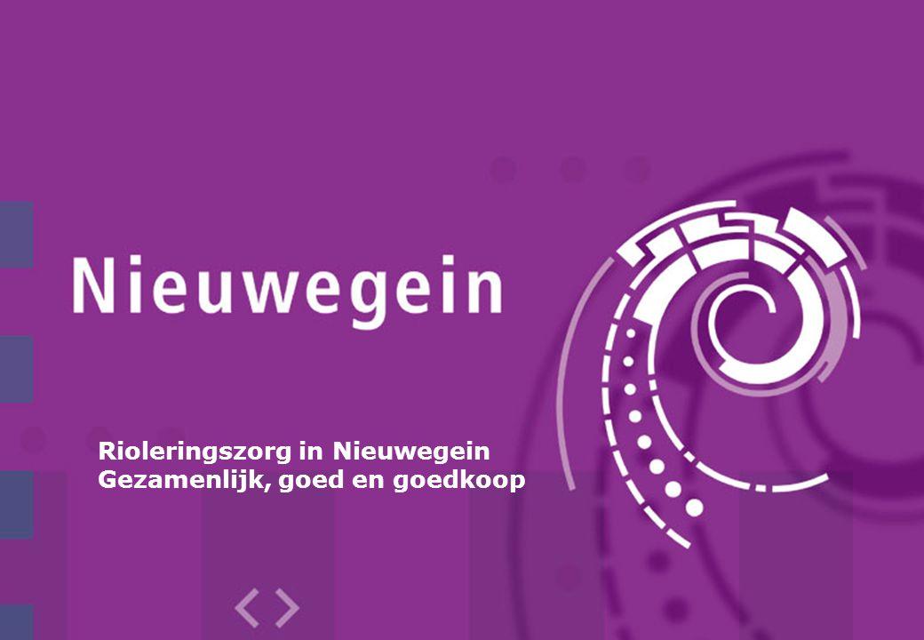 Rioleringszorg in Nieuwegein Gezamenlijk, goed en goedkoop