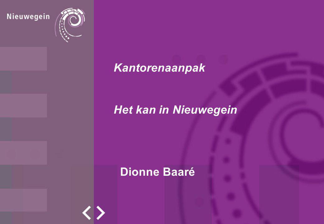 Dionne Baaré Kantorenaanpak Het kan in Nieuwegein