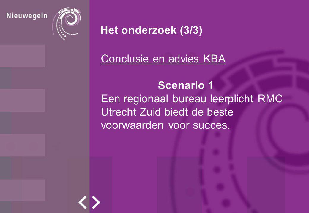 Ambtelijk advies SBO VSV Een gezamenlijk bureau leerplicht RMC van de gemeente Vianen, Nieuwegein, Lopik en IJsselstein (inclusief MBO- team) waarbij intensieve afstemming plaatsvindt met de gemeente Houten op het gebied van MBO.