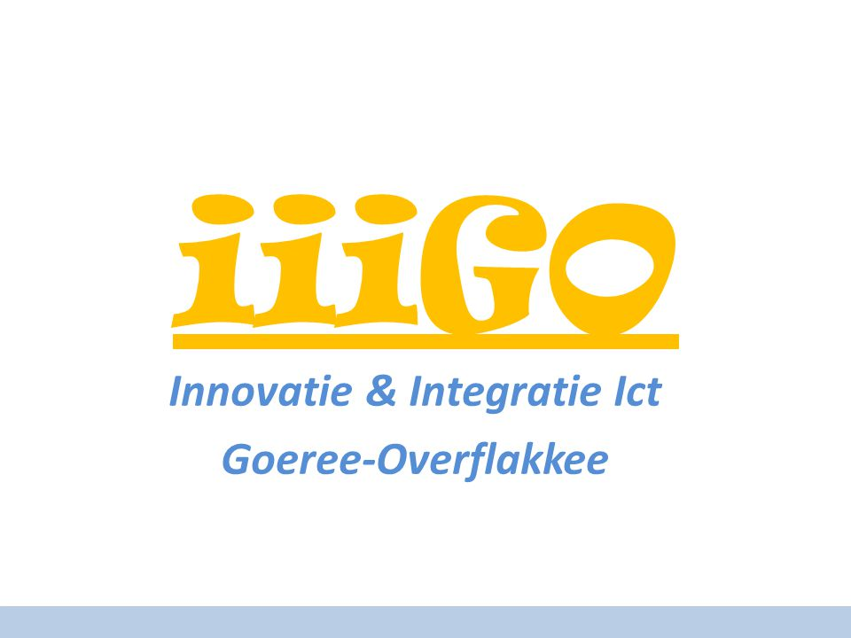iiiGO Innovatie & Integratie Ict Goeree-Overflakkee