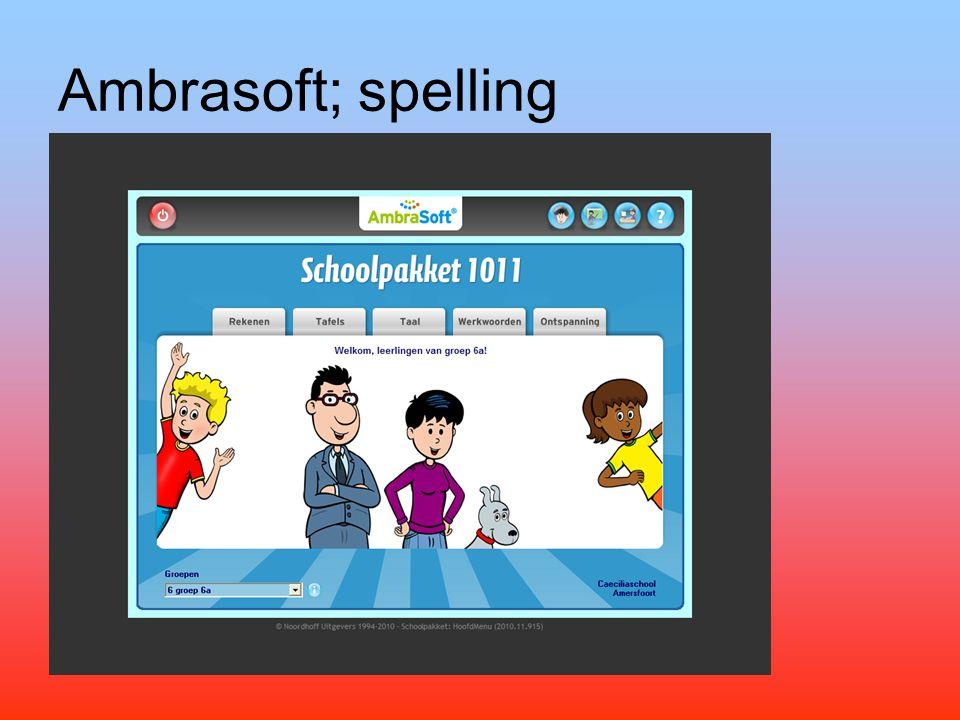 Ambrasoft; spelling