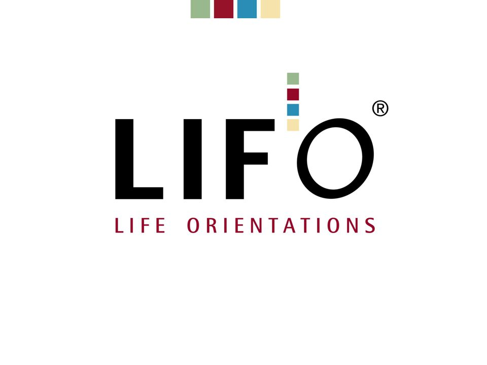 Het LIFO ® model LIFO ® en Omgaan met agressie Een specifieke toepassing Hans Fischer