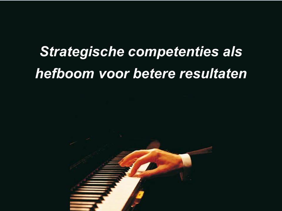 Strategische competenties als hefboom voor betere resultaten