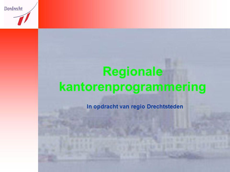 Regionale kantorenprogrammering In opdracht van regio Drechtsteden