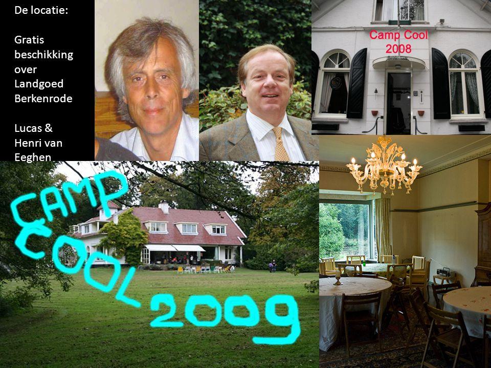 De locatie: Gratis beschikking over Landgoed Berkenrode Lucas & Henri van Eeghen