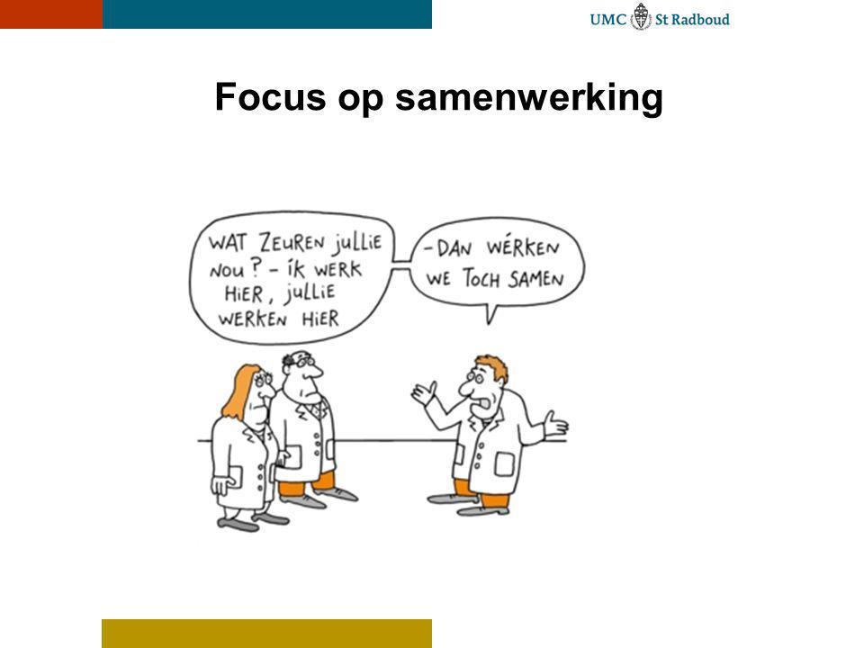Focus op samenwerking