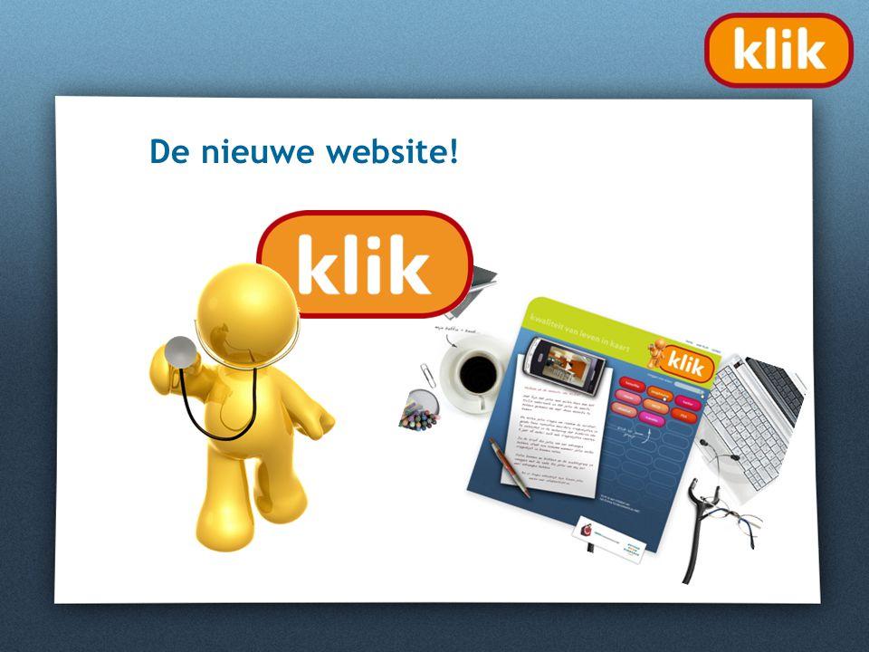 De nieuwe website!