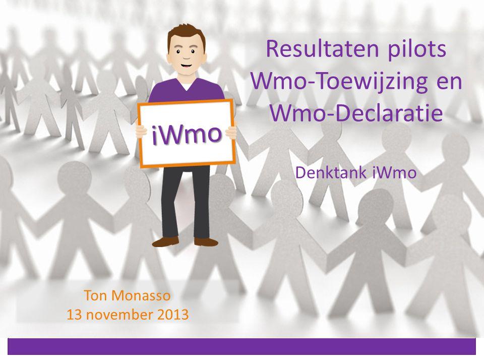Inhoud Vertrouwen door hergebruik Berichtstromen in de Wmo Kenmerken van Wmo-berichten Eerste uitkomsten toetsing Vervolg