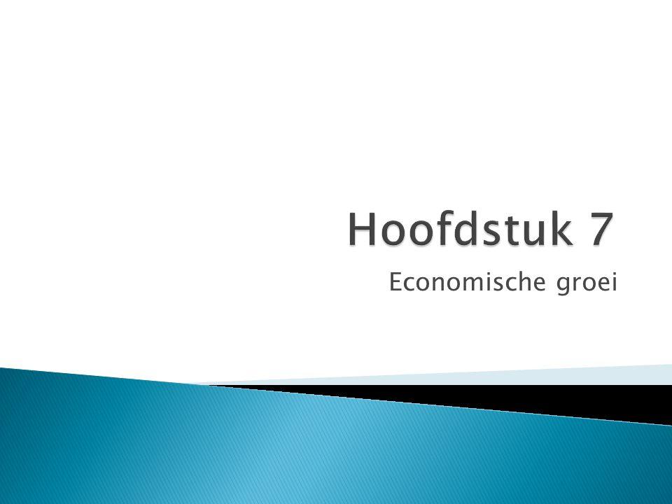  Solow groeimodel doorzien  Leren hoe het spaargedrag en de bevolkingsgroei de economische groei beinvloeden.