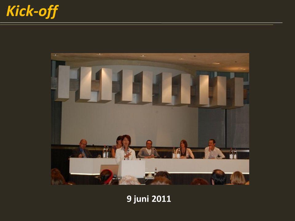 Kick-off 9 juni 2011