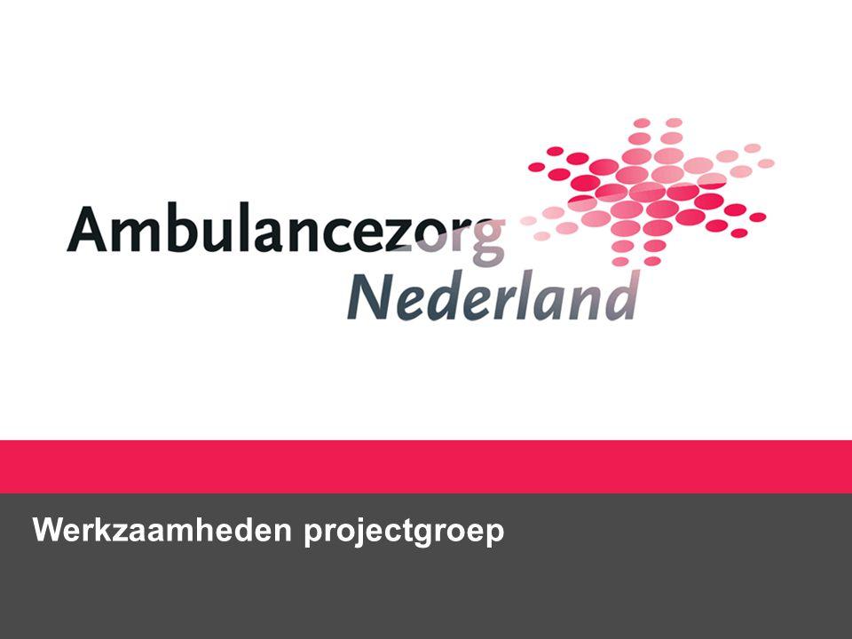 Werkzaamheden projectgroep
