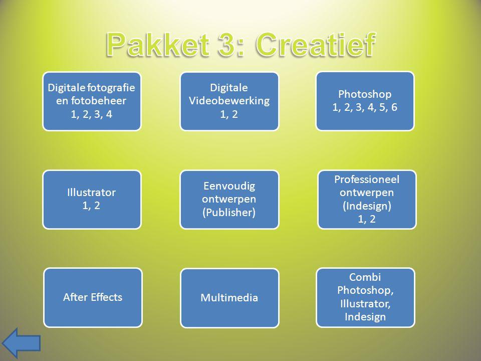 Internet 1, 2, 3 Internet anders bekeken Webanimatie Flash 1, 2 Webscripting PHP 1, 2 Professionele webdesign (Dreamweaver) 1, 2, 3 Eenvoudige webdesign (Joomla) 1, 2 E-commerce (Magento)
