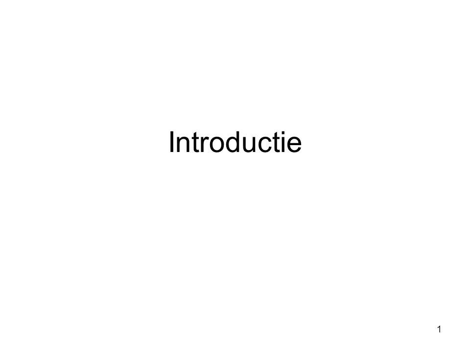 1 Introductie