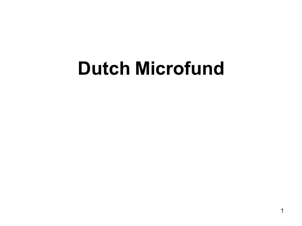 1 Dutch Microfund
