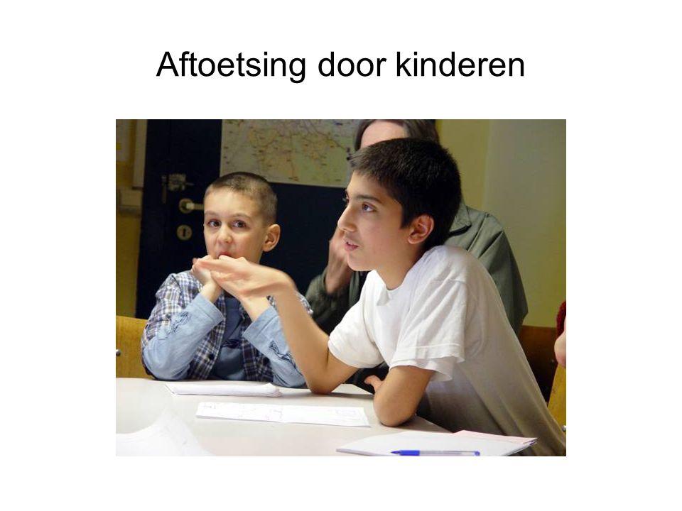 Aftoetsing door kinderen
