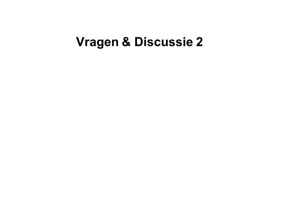 Vragen & Discussie 2