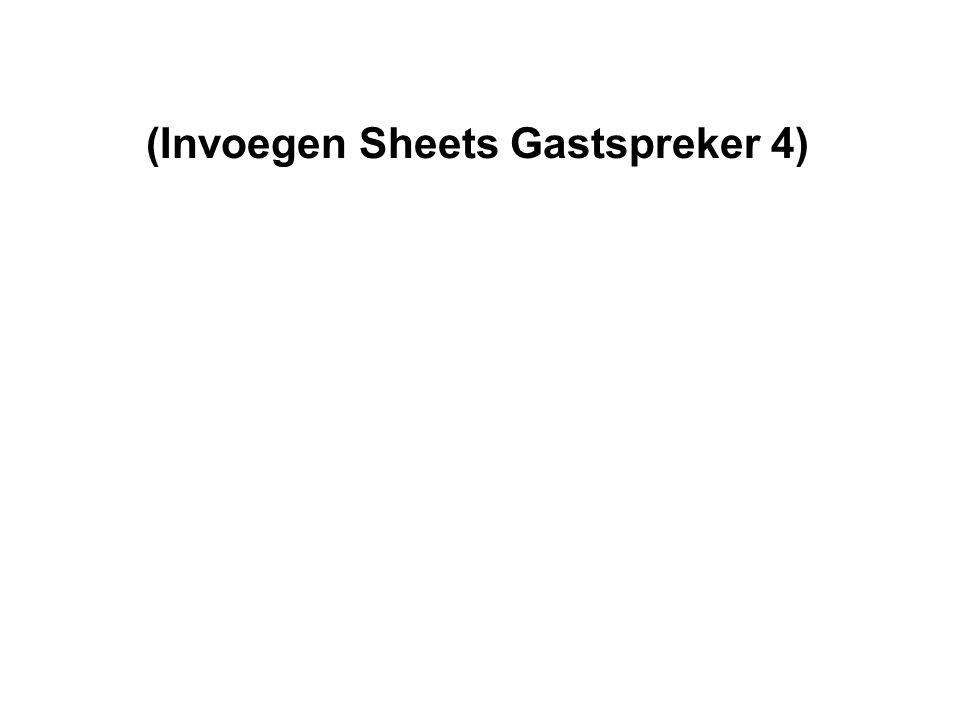 (Invoegen Sheets Gastspreker 4)