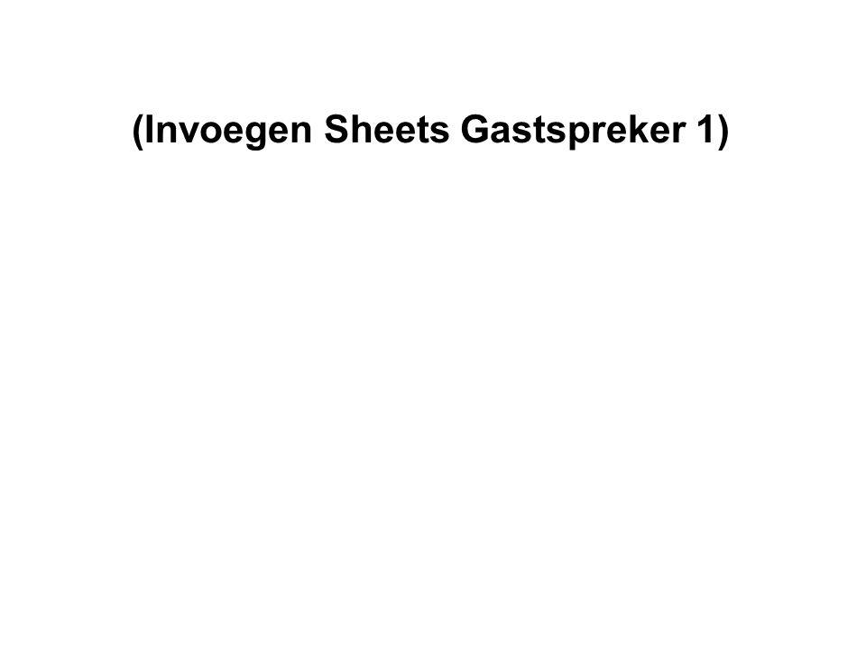 (Invoegen Sheets Gastspreker 1)