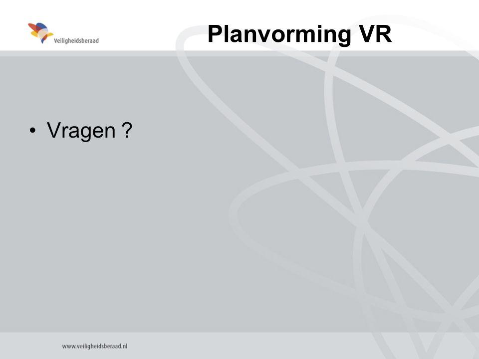 Planvorming VR Vragen ?