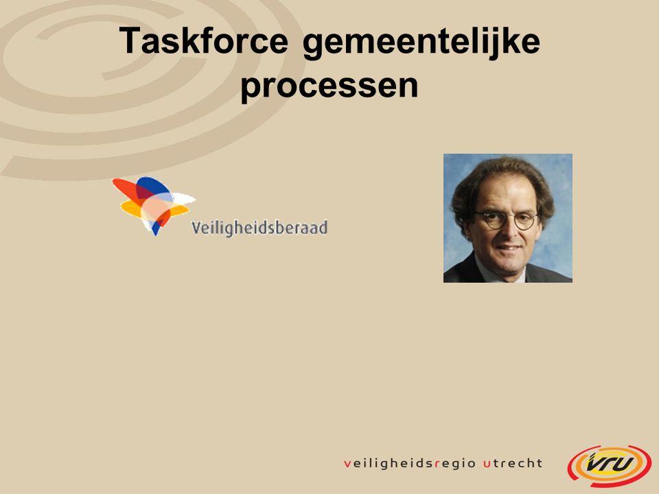 Taskforce gemeentelijke processen