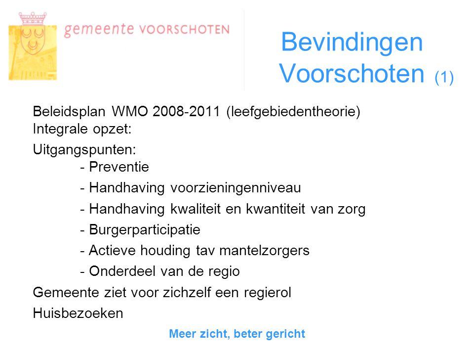Bevindingen Voorschoten (2) -Is het beleid echt integraal.