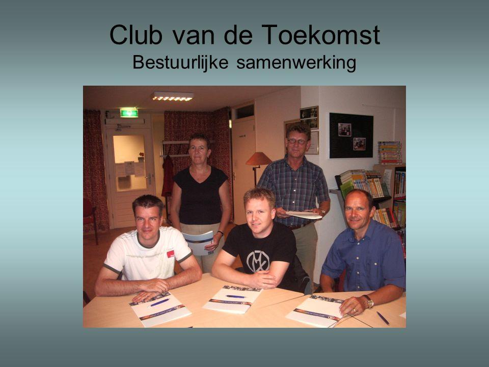 Club van de Toekomst Bestuurlijke samenwerking