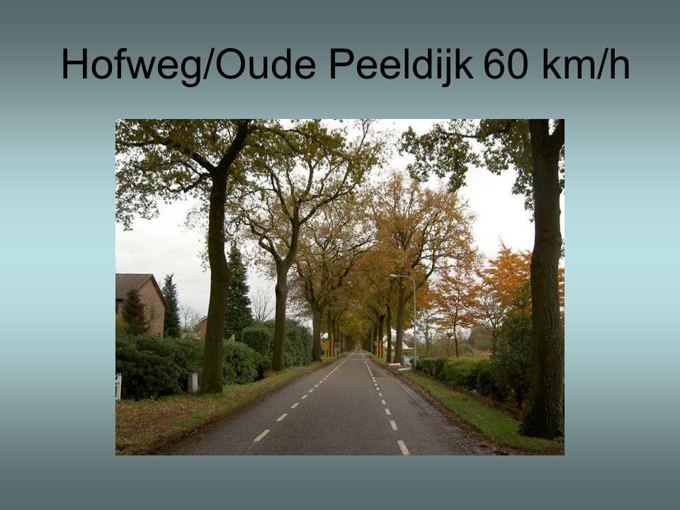 Hofweg/Oude Peeldijk 60 km/h