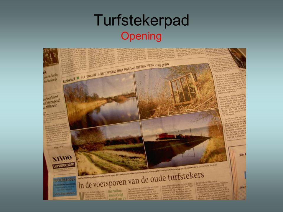 Turfstekerpad Opening