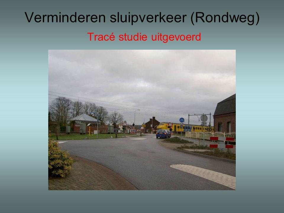 Verminderen sluipverkeer (Rondweg) Tracé studie uitgevoerd