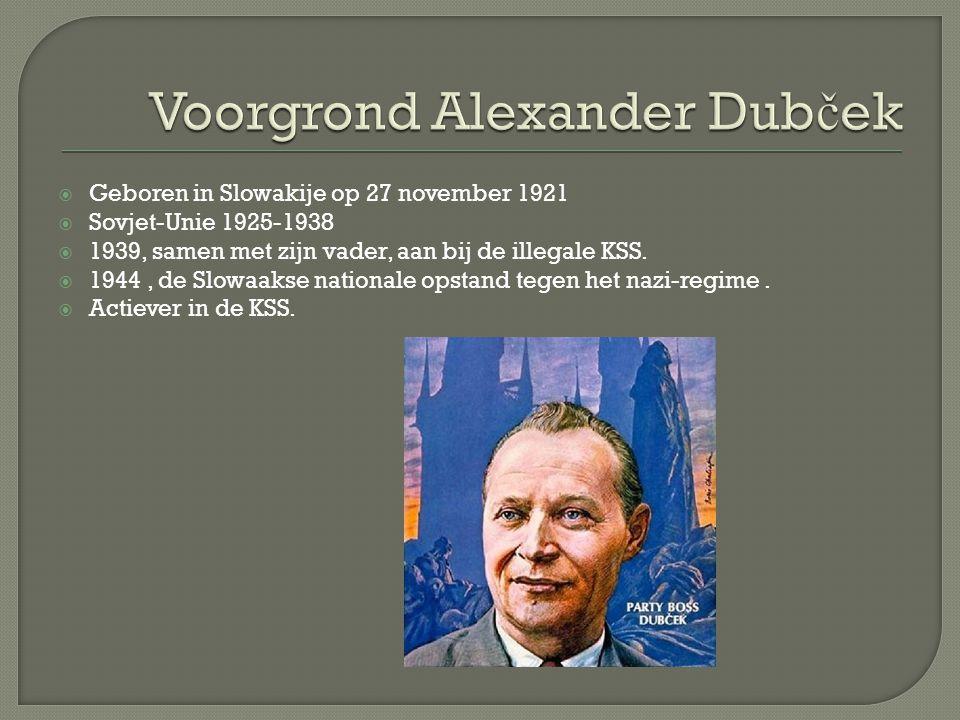  Geboren in Slowakije op 27 november 1921  Sovjet-Unie 1925-1938  1939, samen met zijn vader, aan bij de illegale KSS.  1944, de Slowaakse nationa