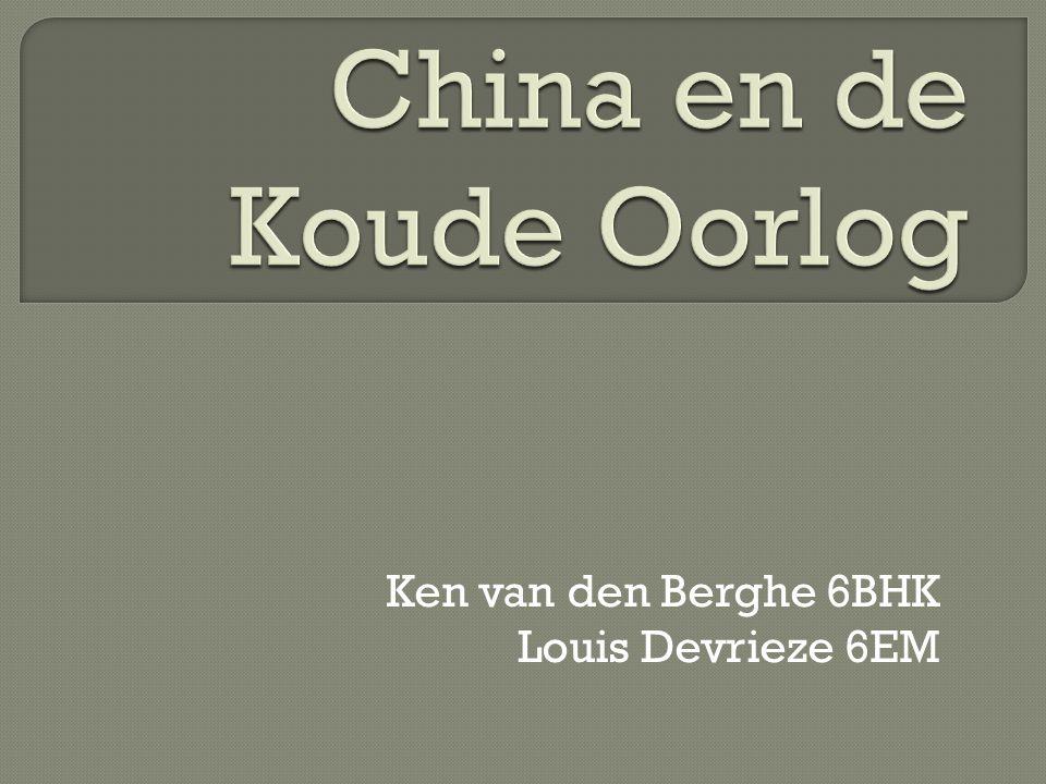Ken van den Berghe 6BHK Louis Devrieze 6EM