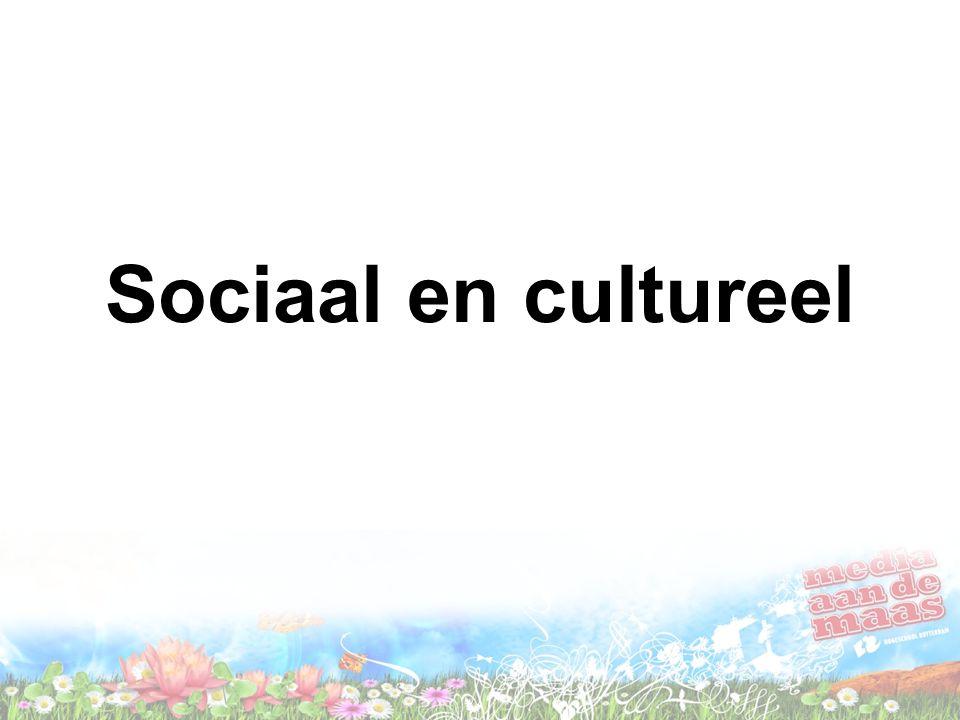 Sociaal en cultureel