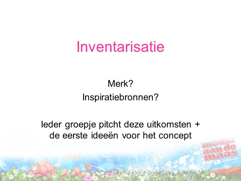 Inventarisatie Merk. Inspiratiebronnen.