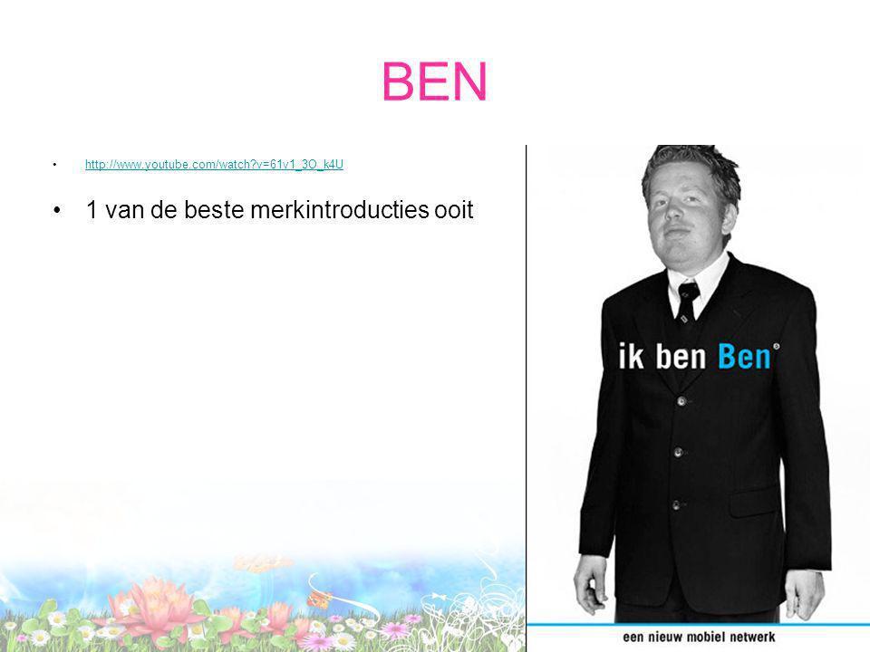 BEN http://www.youtube.com/watch v=61v1_3O_k4U 1 van de beste merkintroducties ooit