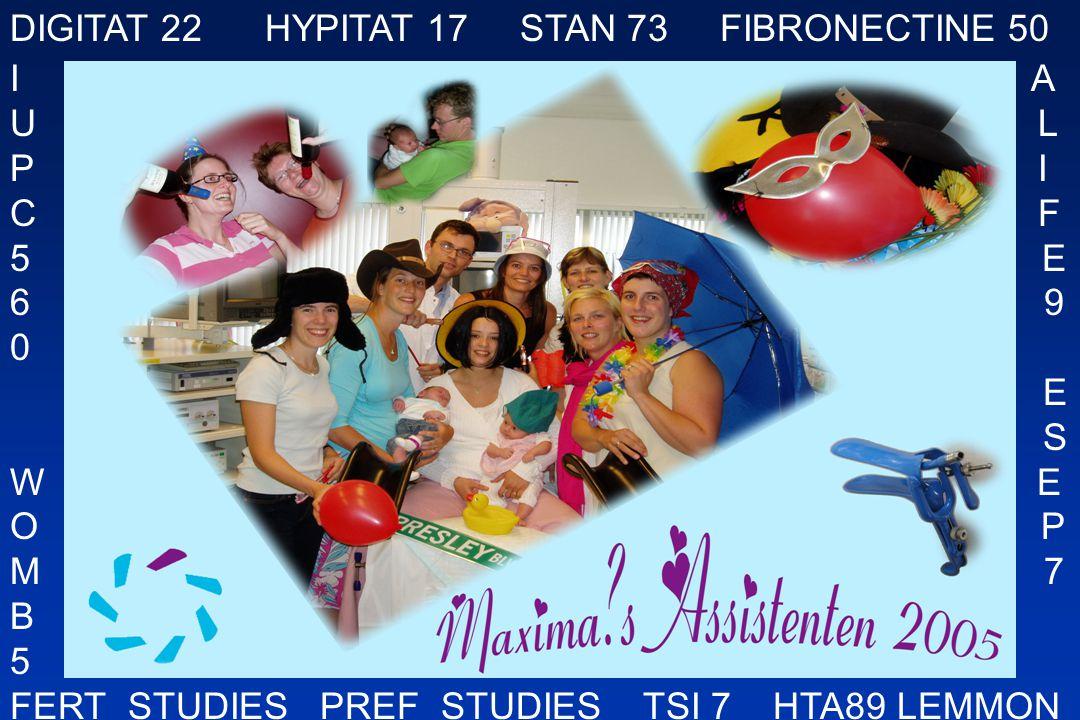 DIGITAT 22 HYPITAT 17 STAN 73 FIBRONECTINE 50 I A U L P I C F 5 E 6 9 0 E S W E O P M 7 B 5 FERT_STUDIES PREF_STUDIES TSI 7 HTA89 LEMMON