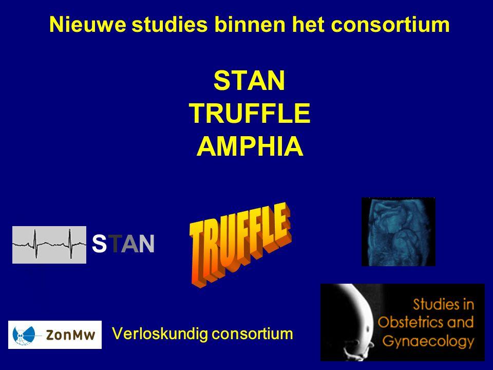 Nieuwe studies binnen het consortium STAN TRUFFLE AMPHIA Verloskundig consortium STANSTAN