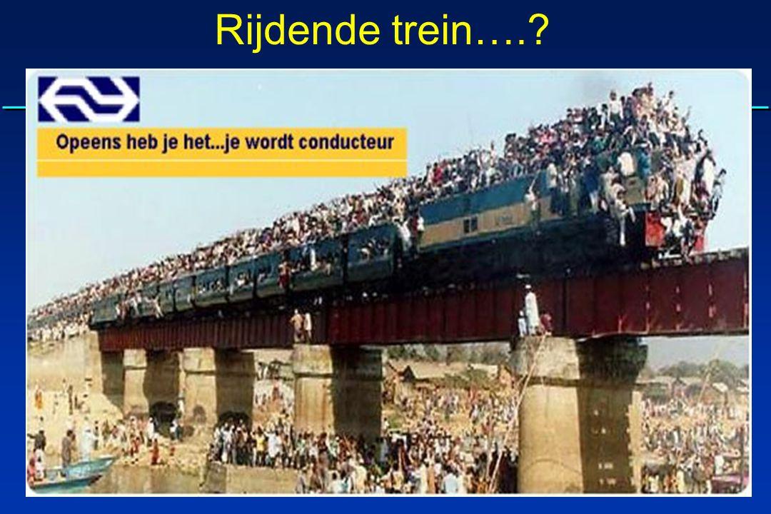 Rijdende trein….?