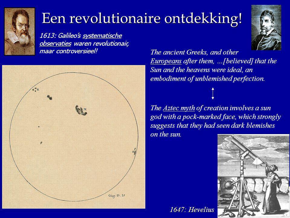 1613: Galileo's systematische observaties waren revolutionair, maar controversieel.