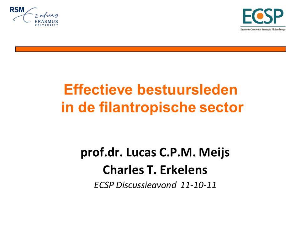 prof.dr. Lucas C.P.M. Meijs Charles T.