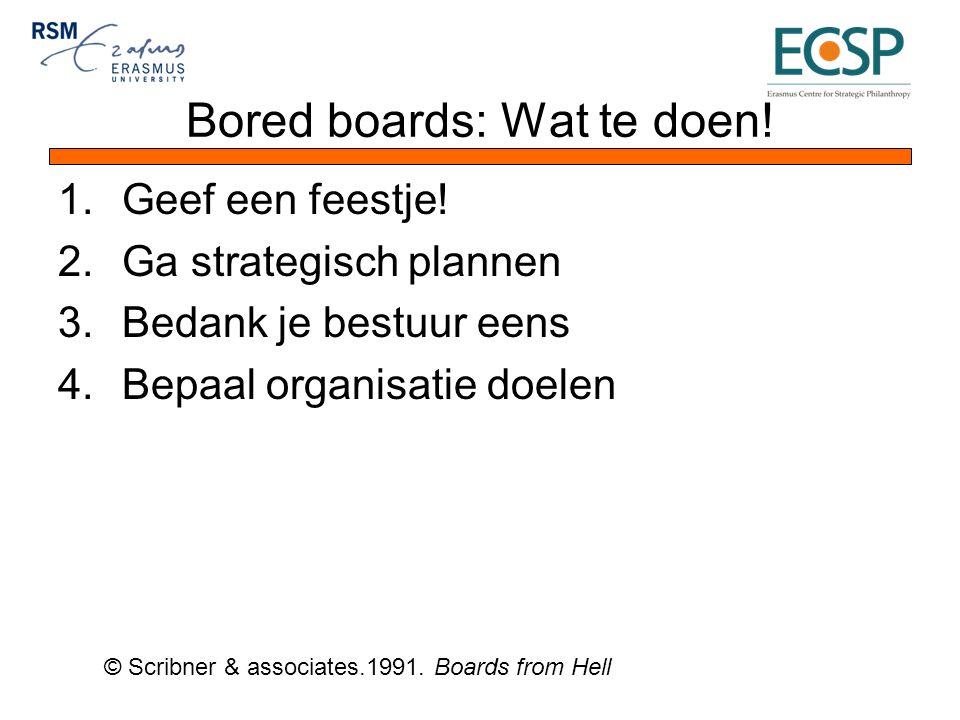 Bored boards: Wat te doen. 1.Geef een feestje.
