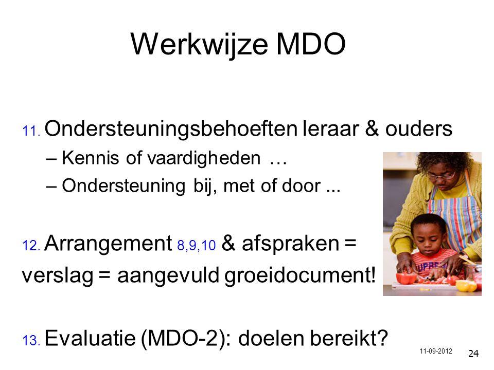 24 Werkwijze MDO 11.