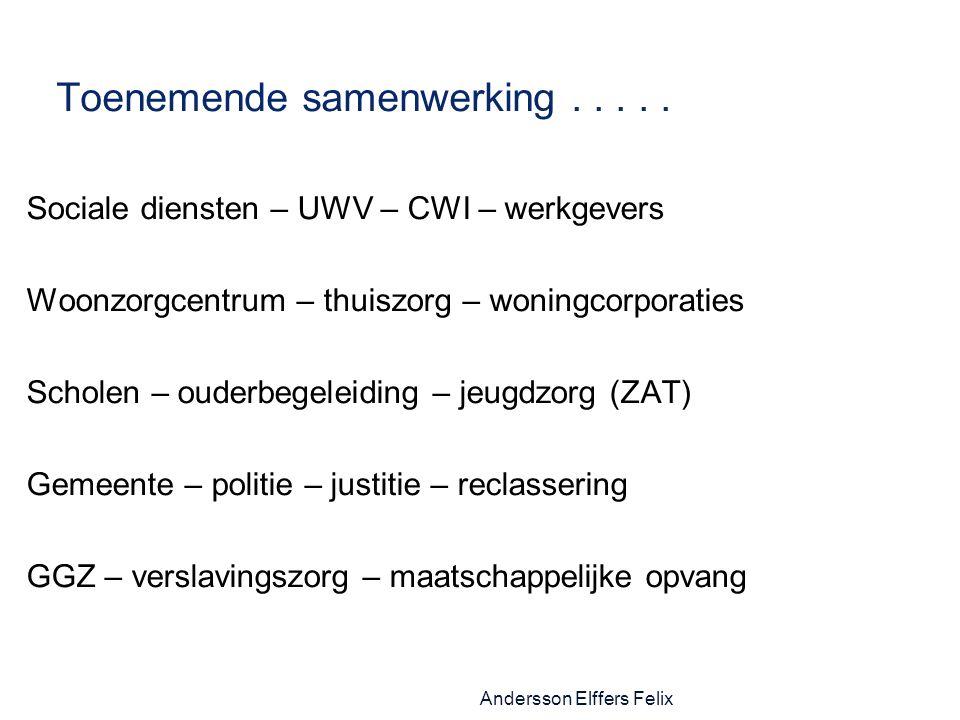 Andersson Elffers Felix Toenemende samenwerking.....