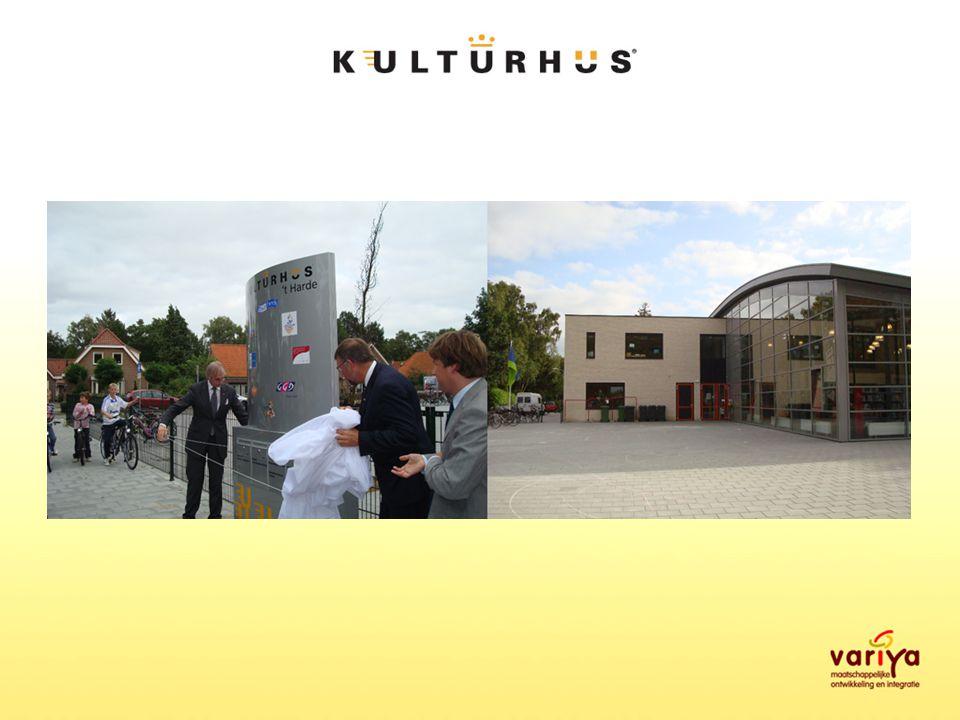 De kulturhus-methode Meerwaarde creëren uit samenwerking op inhoud, organisatie en ruimtedeling, waardoor sociaal en cultureel kapitaal in een woonkern of wijk langdurig behouden of vergroot wordt.